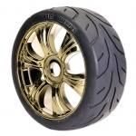 H825GM 1/8 Rally Tyre Set