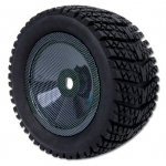 1/8 Truggy Tyre With Carbon Rim