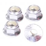 HLM5FS M5 Locking Nut - Silver