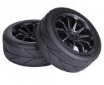 HT23 1/10 Touring Tyre - Black