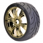 H825GM 1/8 Rally Tyre Set