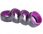 HD60PU Drift Tyre Set - Purple