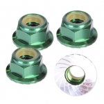 HLM5FG M5 Locking Nut - Green