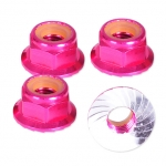 HLM5FP M5 Locking Nut - Pink