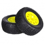 HTSTY Short Course Tyre Set - Yellow