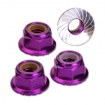 M5 Locking Nut Purple